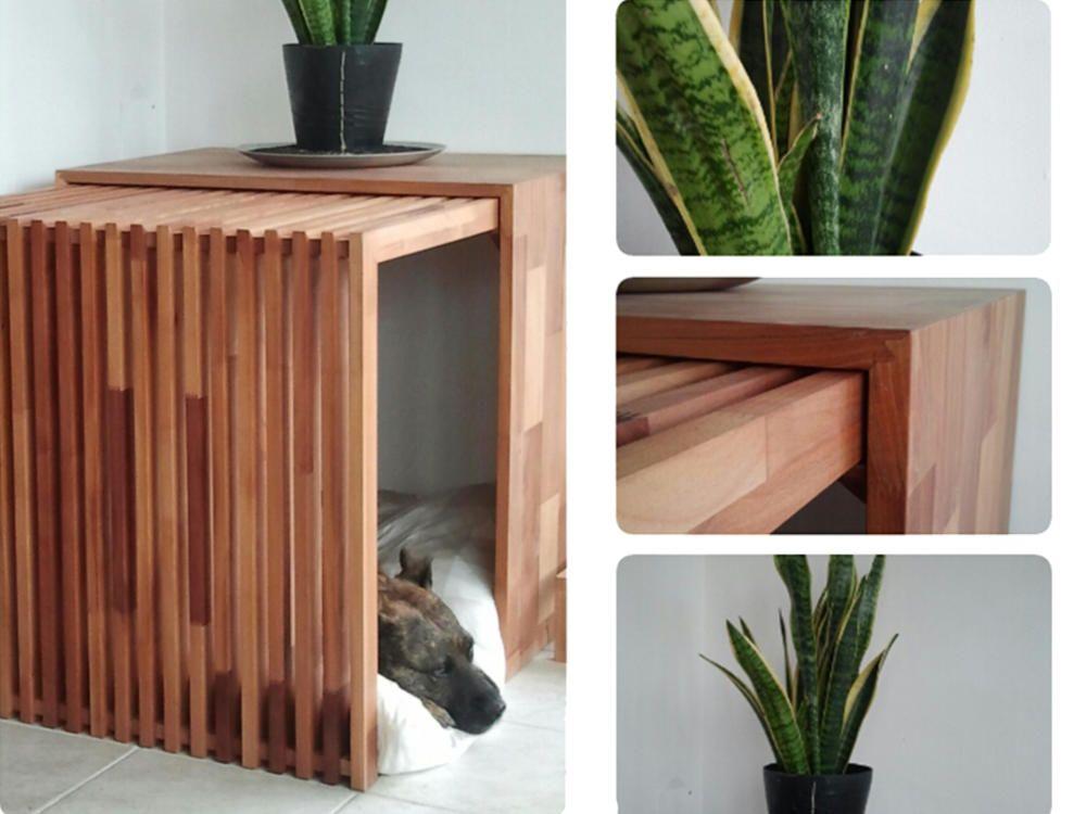 zeitloses vollholz indoor dog house hundeh tten die zwei und umgebung. Black Bedroom Furniture Sets. Home Design Ideas