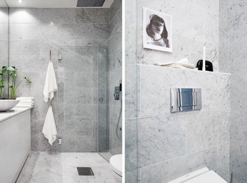 Scandinavian Design: Loft on Skånegatan | Salle de bains, Salle et Déco