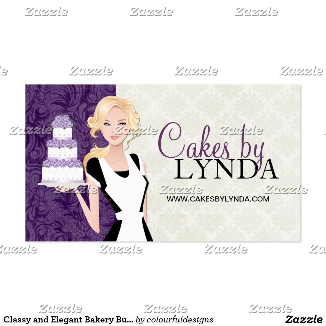 Selbst Gestalten Visitenkarte Zazzle De Elegante