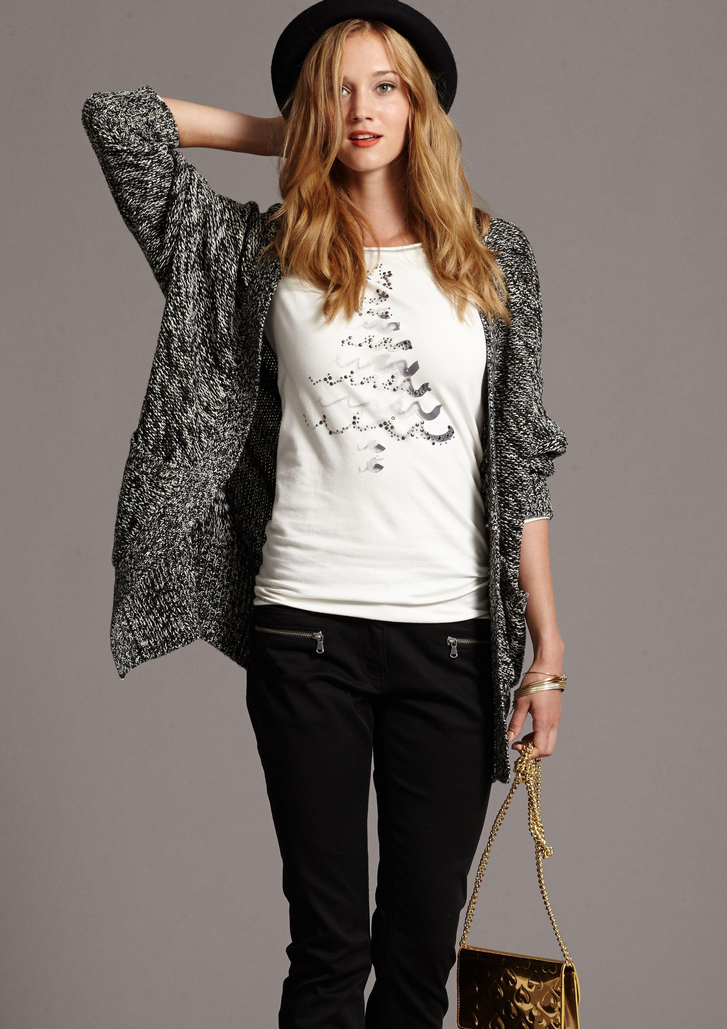 Casual Glamour fürs Wochenende. Demnächst bei Ernsting's family #fashion #women #weekend