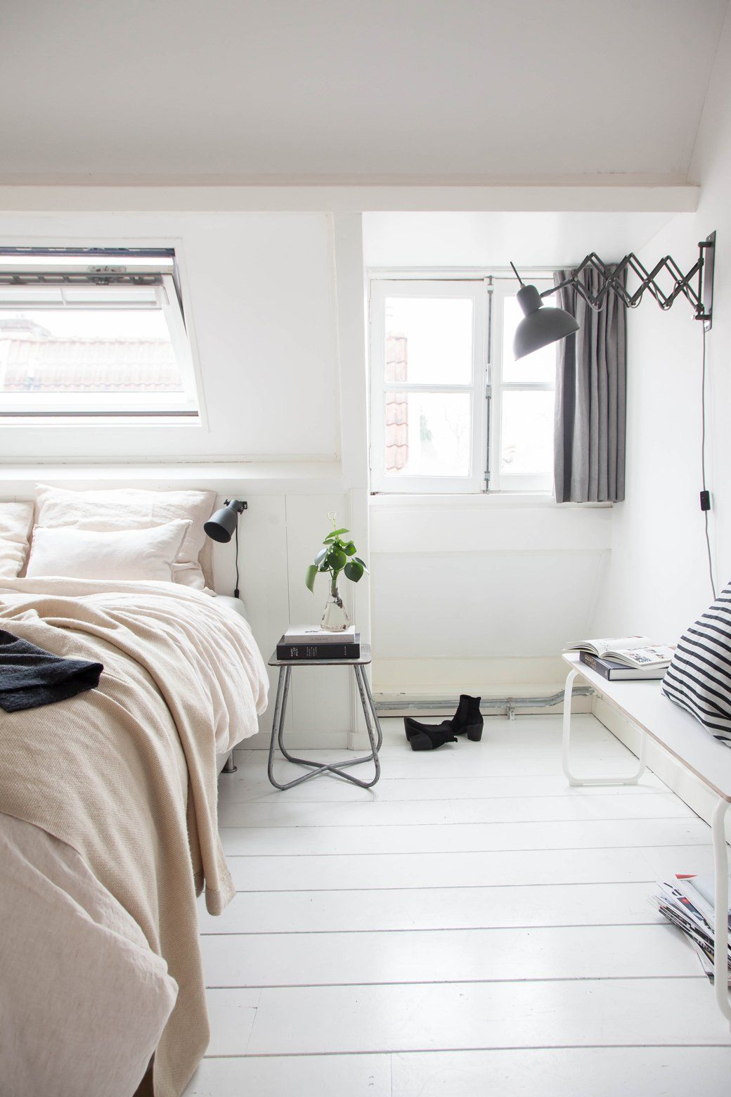 Home Tour: Cool, Calm and Collected Bachelor Pad | Bedrooms ...