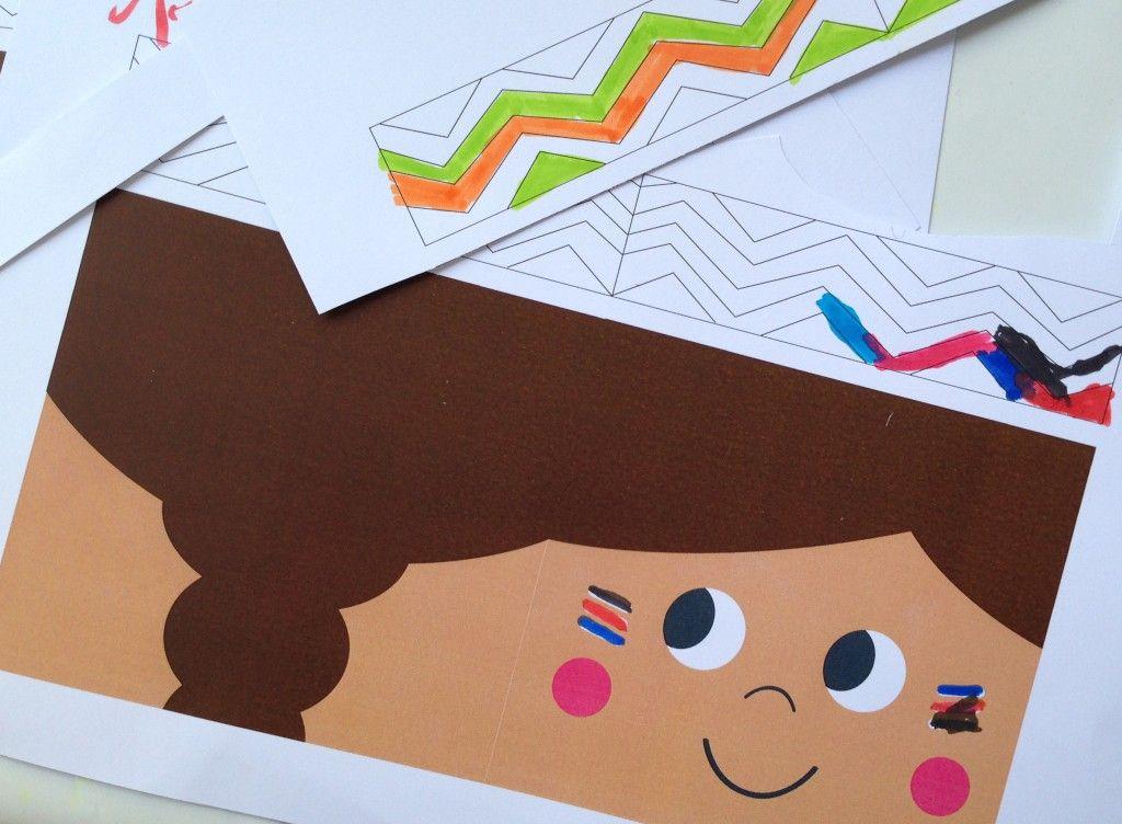 einladungskarte indianer kids party pinterest. Black Bedroom Furniture Sets. Home Design Ideas