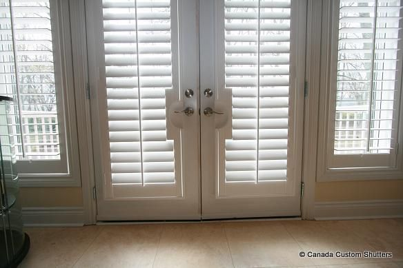 Louvered & French Door Gallery | Canada Custom Shutters