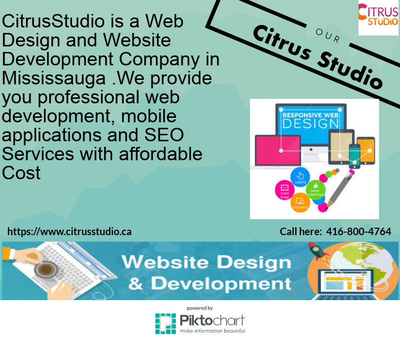 You want to get web design services in Mississauga with