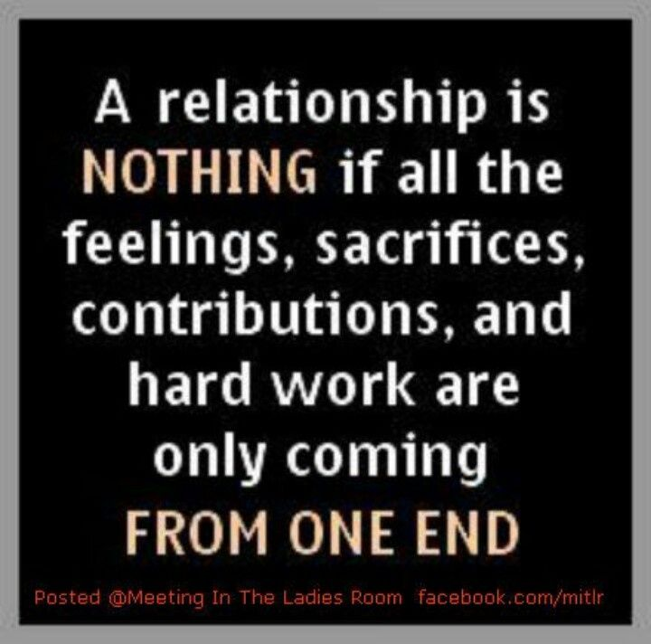 Quotes about one sided relationships
