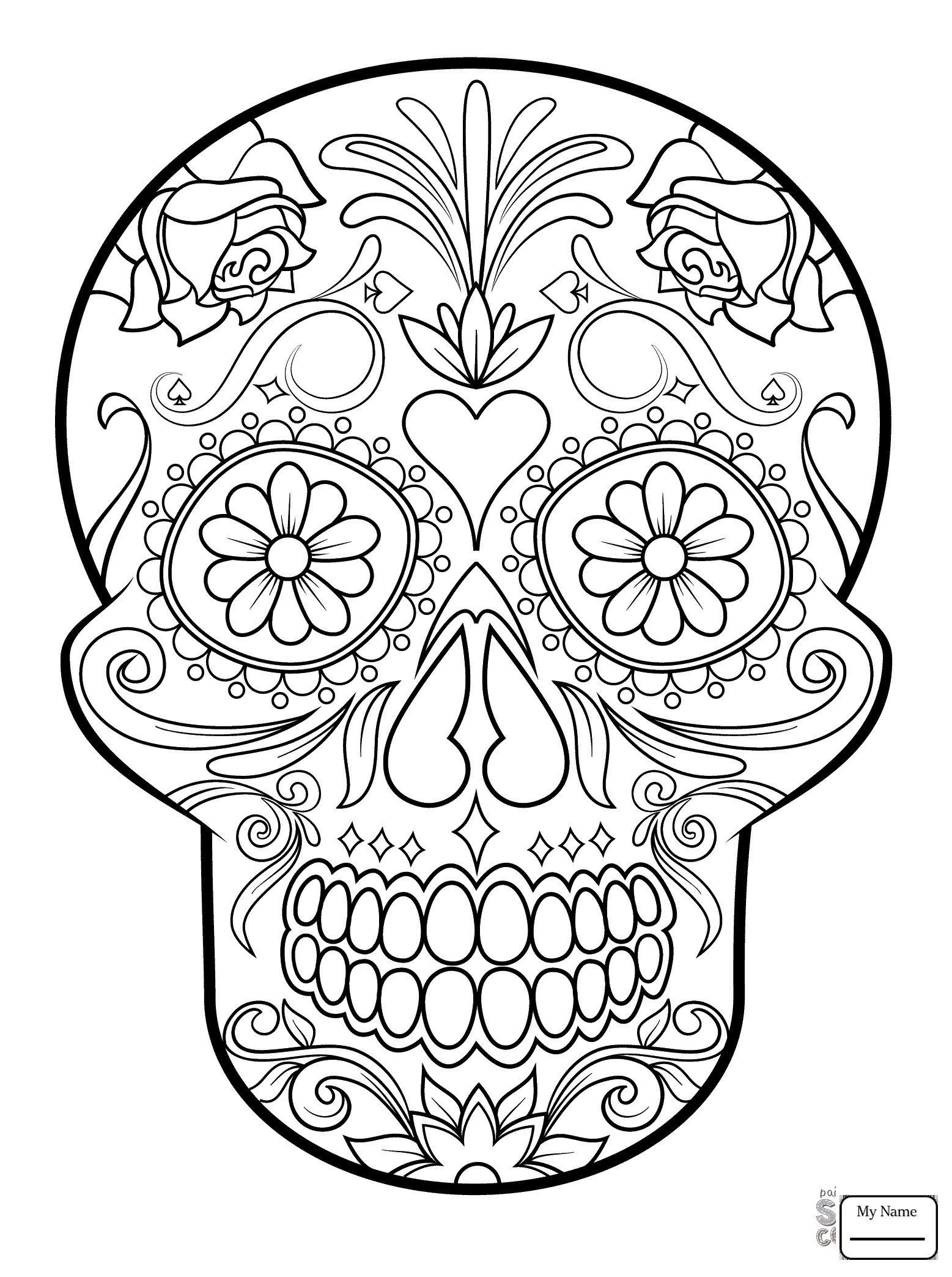 - Dia De Los Muertos Coloring Pages Fresh Coloring Pages 49 Day The