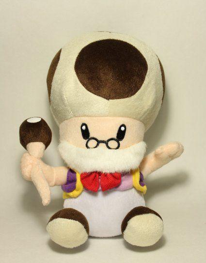 Amazon Com Super Mario Brothers 10 Grandpa Toad Plush Toys