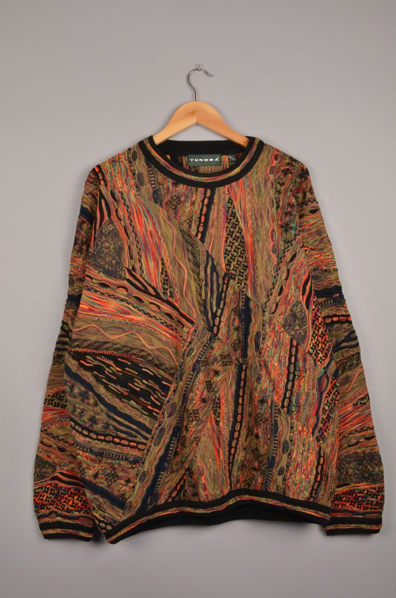 a9299d8d7db tundra sweater, carlo colucci , vintage sweater, coogi sweater ...