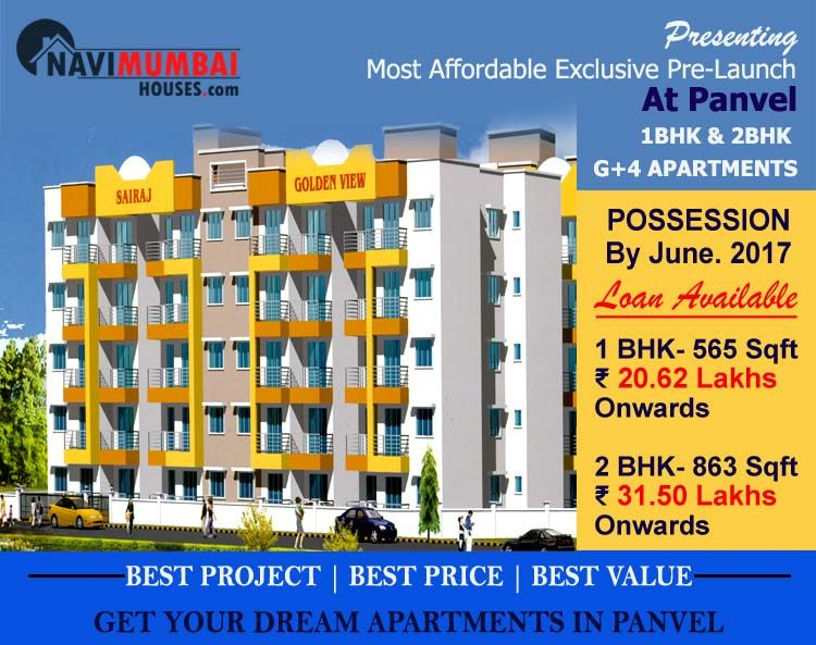 Sairaj Golden View In Panvel By Shivam Developers 1bhk Real
