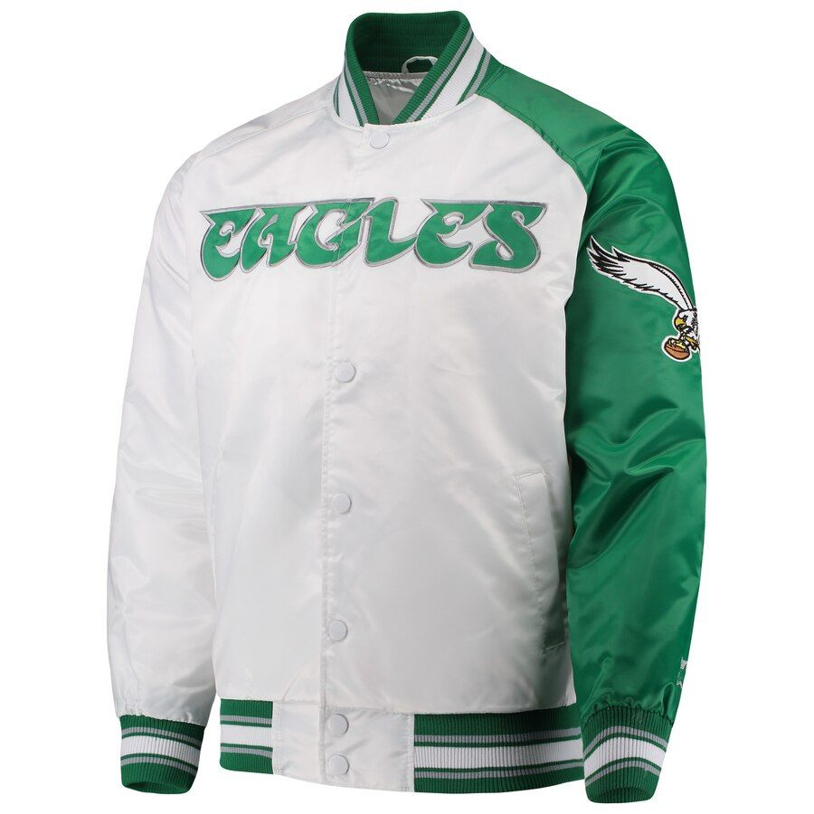 Philadelphia Eagles Starter Start of Season Retro Satin
