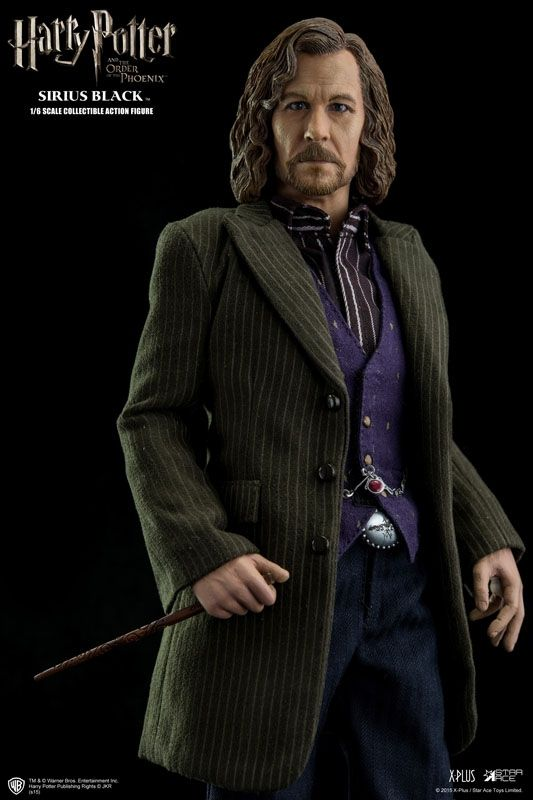 STAR ACE TOYS SIRIUS BLACK HARRY POTTER 1//6TH SCALE ACTION FIGURE SA0009  *NEW*
