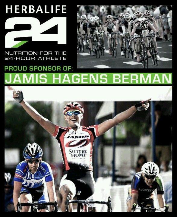 Herbalife nieuw sponsorship pro cycling team Jamis Hagens Berman - clothing sponsorship