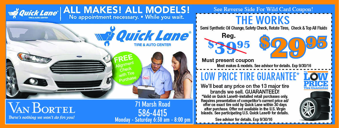 van bortel ford save  car service    prices  great tires save  car parts