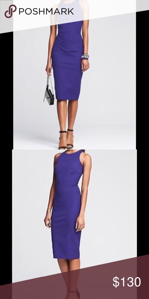 c64a4bb4aa909 Banana Republic Dress Sloan-fit Razorback Dress