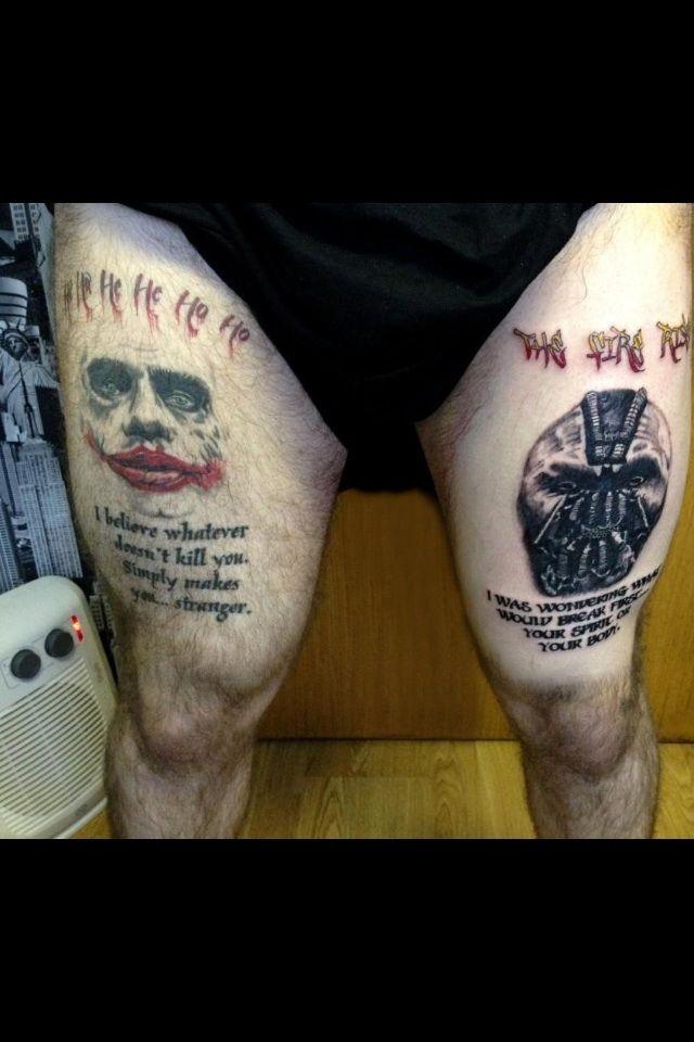 bane tattoos - Google Search | Tattoos, Future tattoos