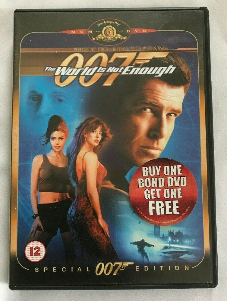 Only 1 99 Free Delivery The World Is Not Enough Dvd 2003