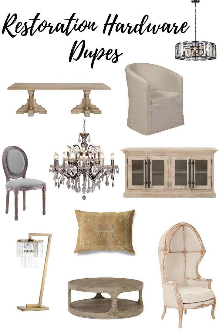 Restoration Hardware Look Alike Items For Less Restoration Hardware Living Room Restoration Hardware Furniture Restoration Hardware Bedroom