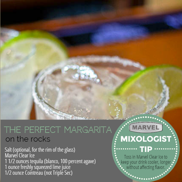 The Perfect Margarita On The Rocks (recipe) A Refreshing