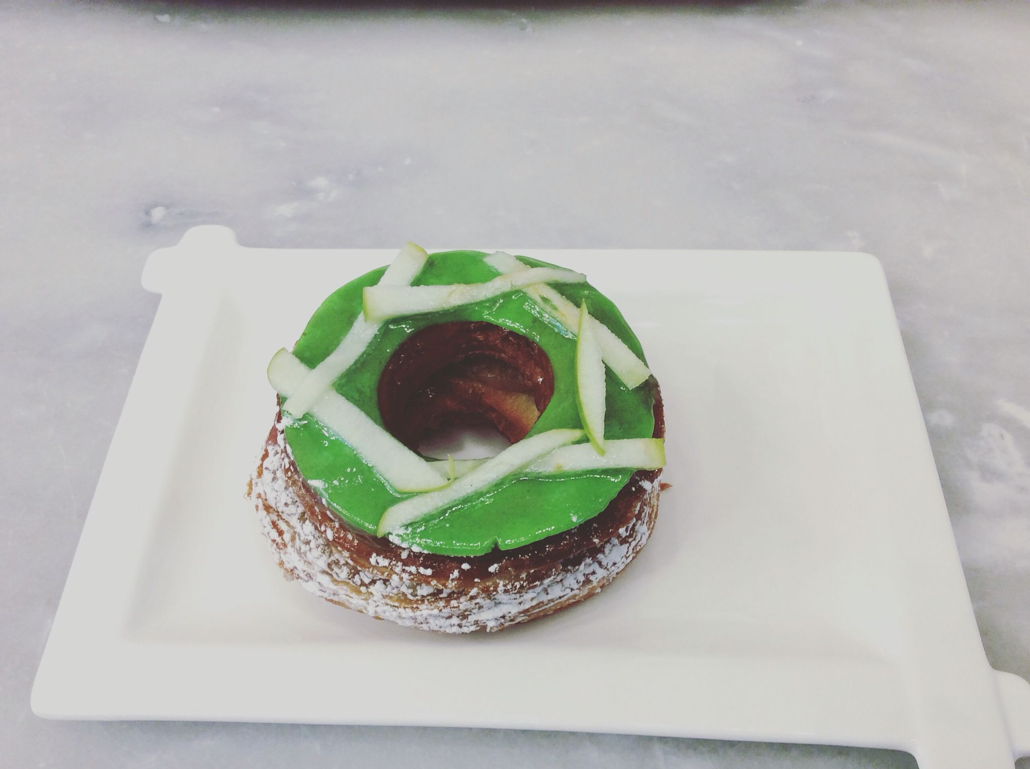 Cronuts pomme cannelle