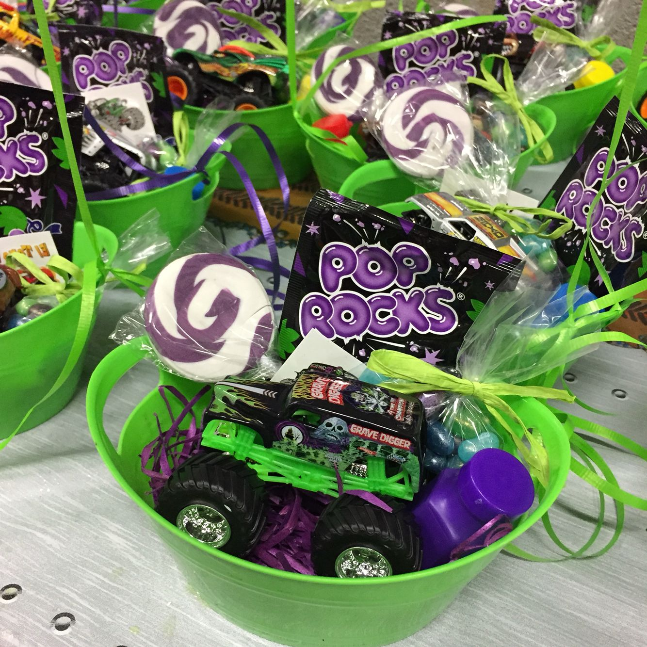 Party Jelly Ideas: Monster Jam Party Favor