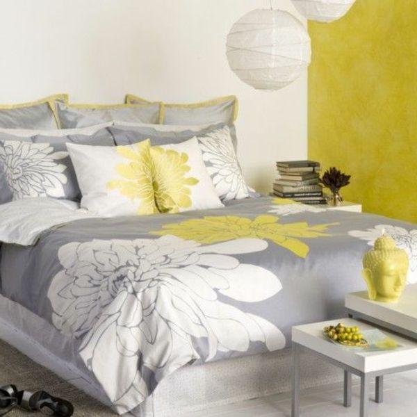 dcoration chambre jaune