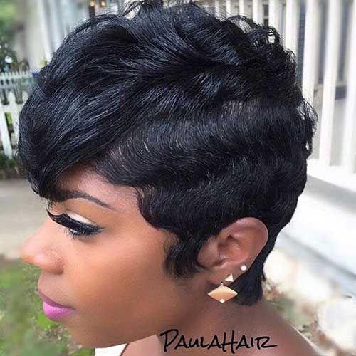 20+ Best Short Hairstyles Black Women | Short Hairstyles ... | short ...