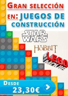 Juegos de construcción LEGO a los mejores precios