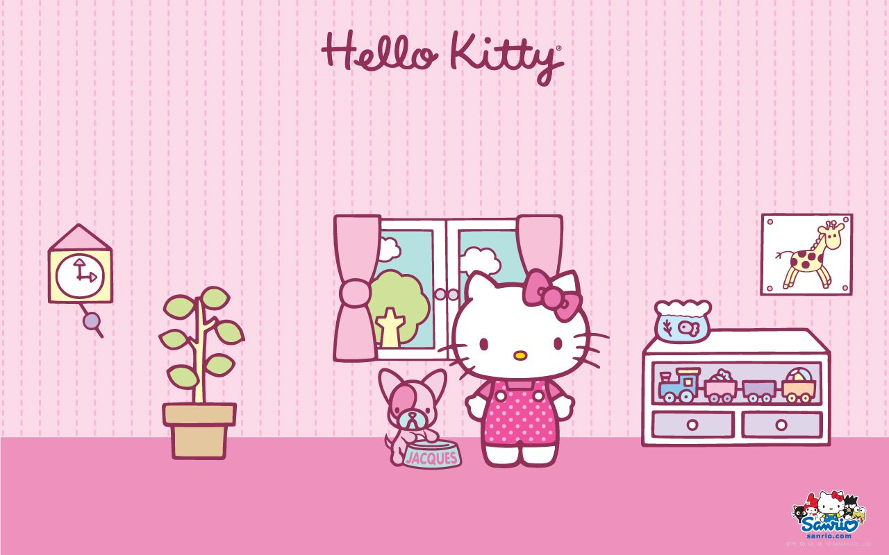 Desktop Candy Hello Kitty Wallpaper Hello Kitty Backgrounds Hello Kitty