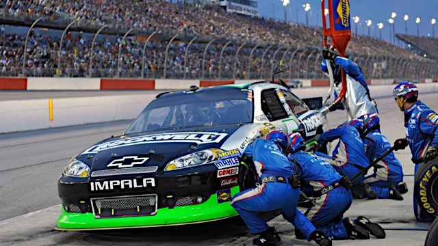 ARTICLE (May 14, 2012): Over the wall: Breaking down a pit stop. Read more: http://www.hendrickmotorsports.com/news/article/2012/05/14/Over-the-wall-breaking-down-a-pit-stop.
