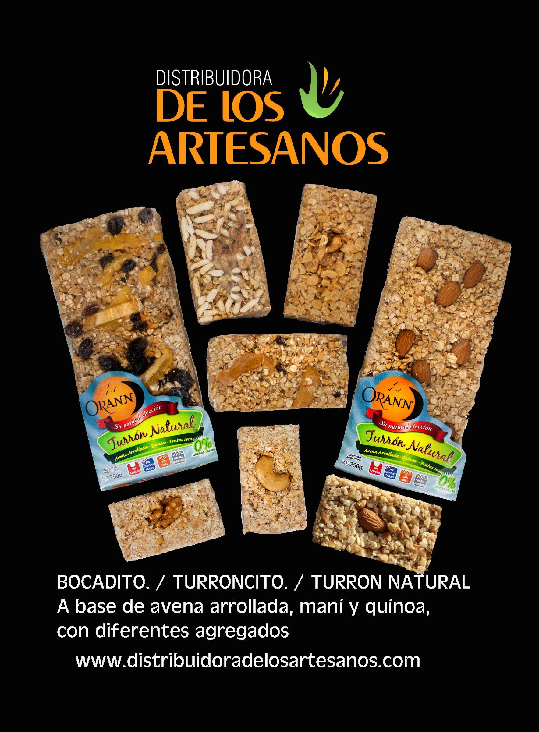 Bocadito Turroncito Turron Natural Orann Ventas Al Por Mayor Distribuidora De Los Artesanos Bocados Tienda Saludable Alimentos Saludables