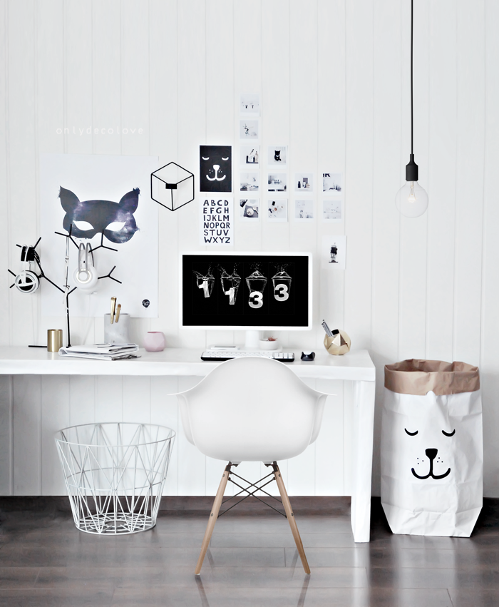 office deco. Contemporary Office My Home Office Got A Playful Look Throughout Office Deco W