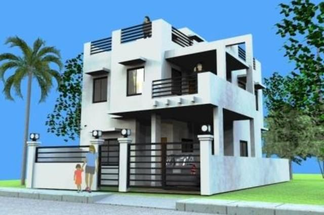 Modern 2 Storey House With Roof Deck 3 Storey House Design