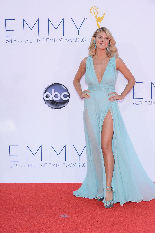 Blue dress emmys place