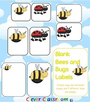 Bug Theme | Bug Theme | Classroom labels, Classroom