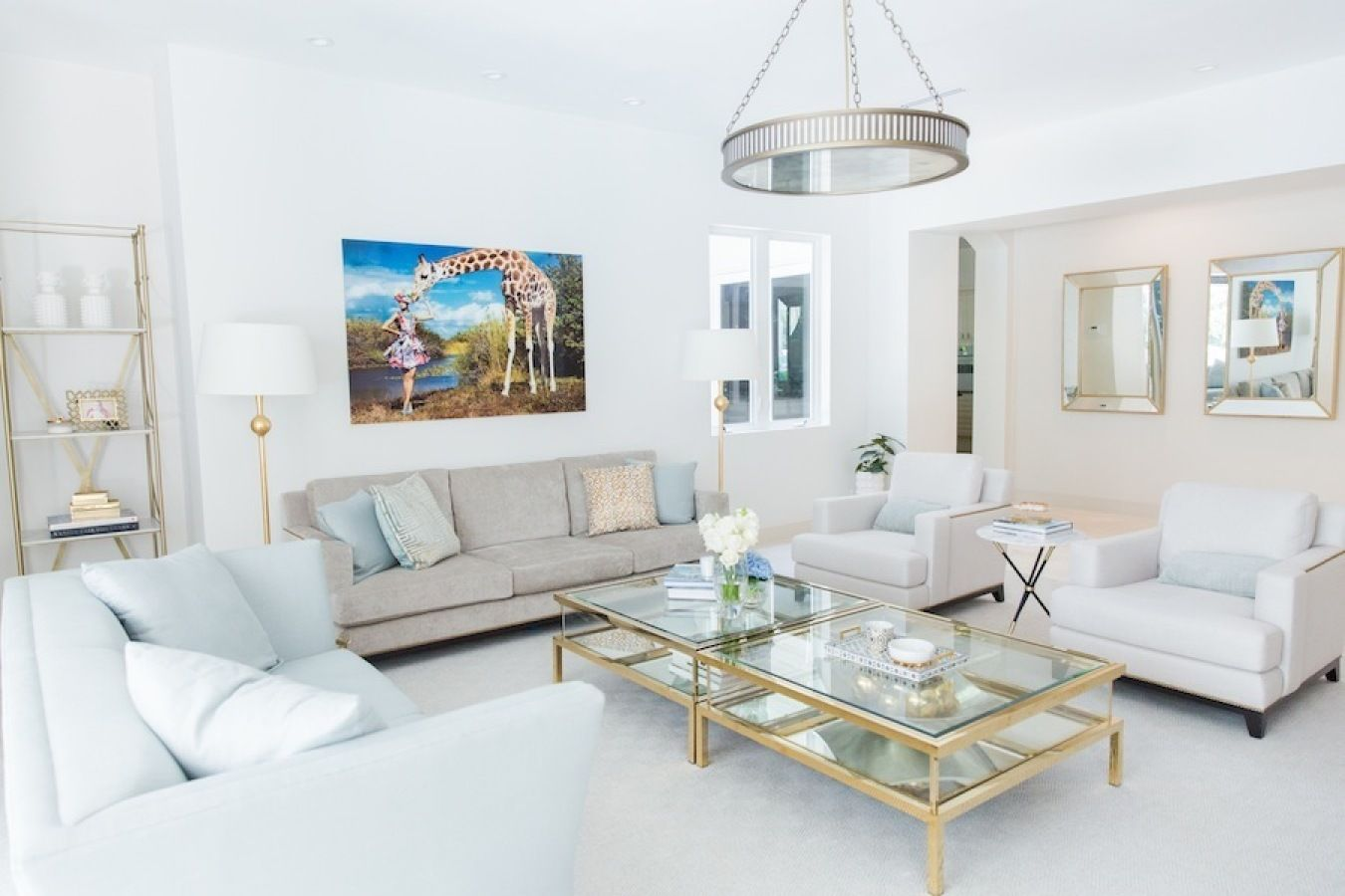 Tour a Home that Has Miami Style Glamour Down to a Gilded Science ...