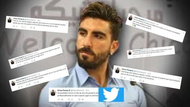 fb1c2a286c Cádiz C.F.  Chico Flores la lía en  twitter y luego pide disculpas - Marca