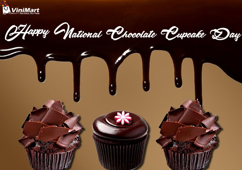 Wishing You A Happy National Chocolate Cupcake Day Cake Shop Cupcake Day Chocolate
