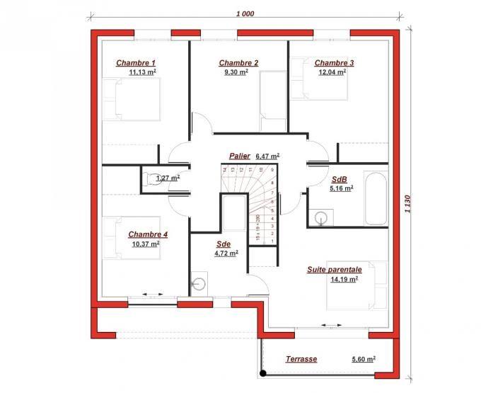 Inspirée des plus belles références de lu0027architecture moderne, l - plan pour construire sa maison