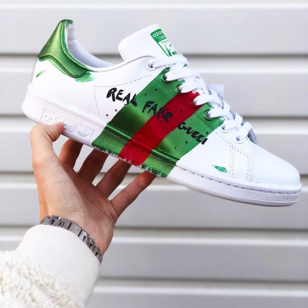 Stan Smith GUCCI Custom | Adidas stan