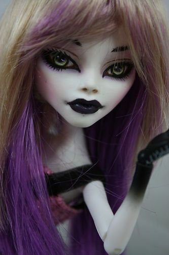 Monster High Cupid Gothic OOAK Repaint Lillith | eBay