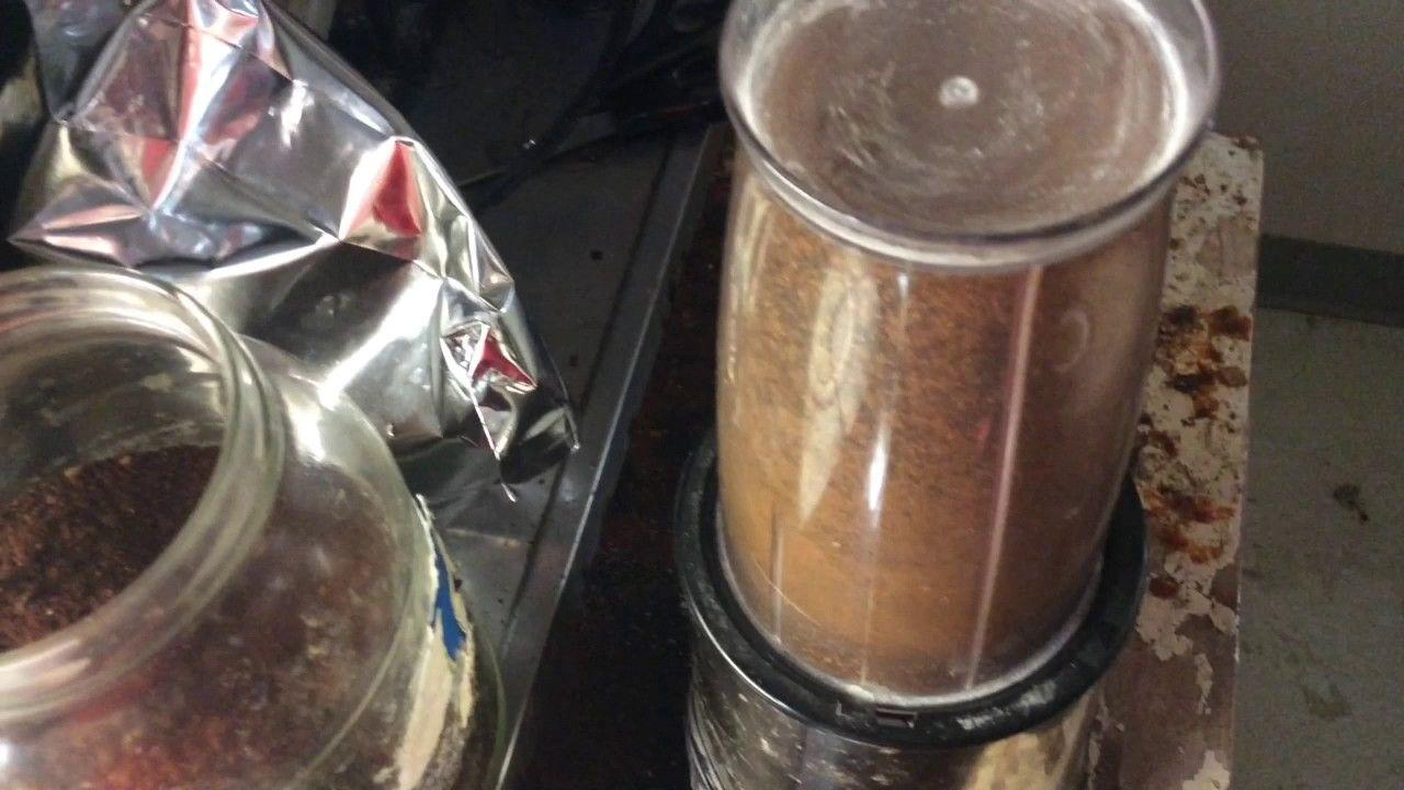 Grinding justins coffee grind nutribullet blender coffee