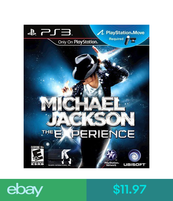 New Ps3 Michael Jackson The Experience Playstation Move Game Playstation 3 Juegos De Wii Michael Jackson Nintendo 3ds