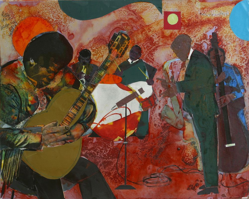 Collages elements of art popular art romare bearden