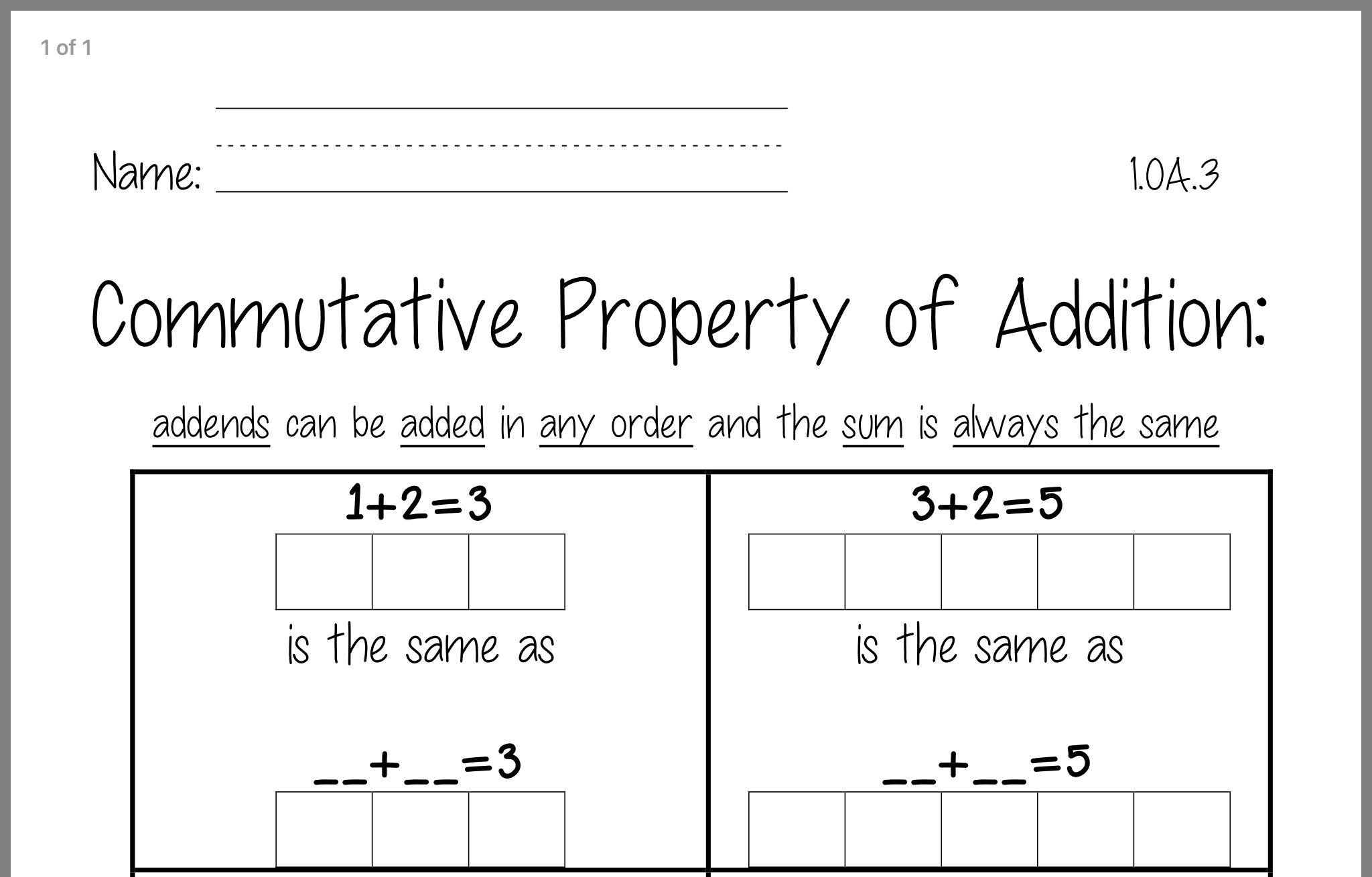 Pin By Darla Shumway On Commutative Property
