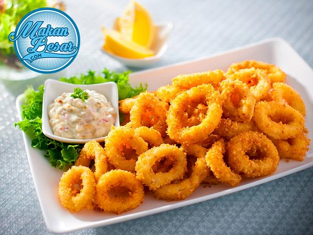 Cara Membuat Cumi Goreng Tepung Resep Calamari Resep Masakan