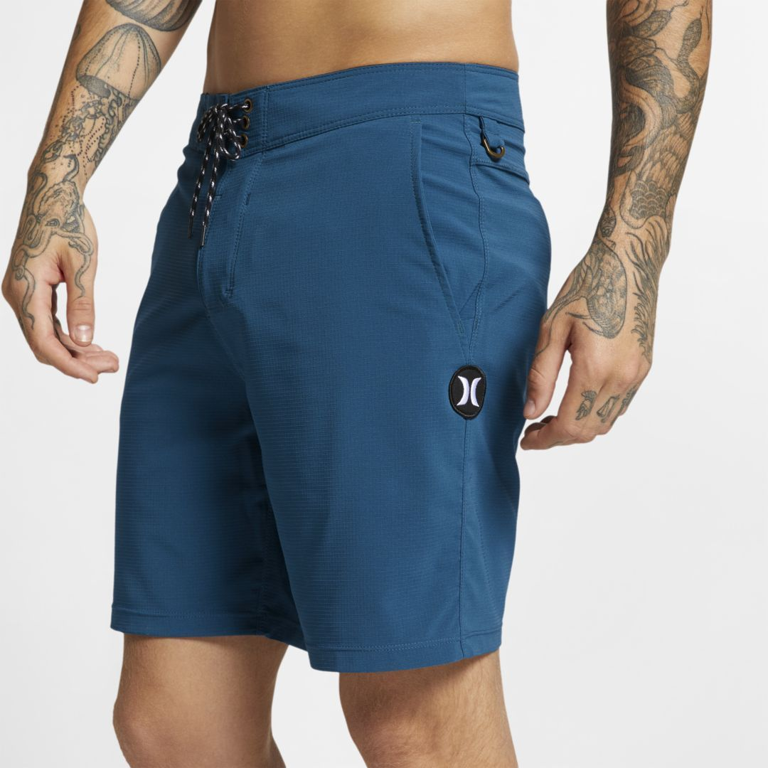 Short Homme Hurley Phantom Block Party Solid Obsidian 18/'/' Boardshort Men/'s