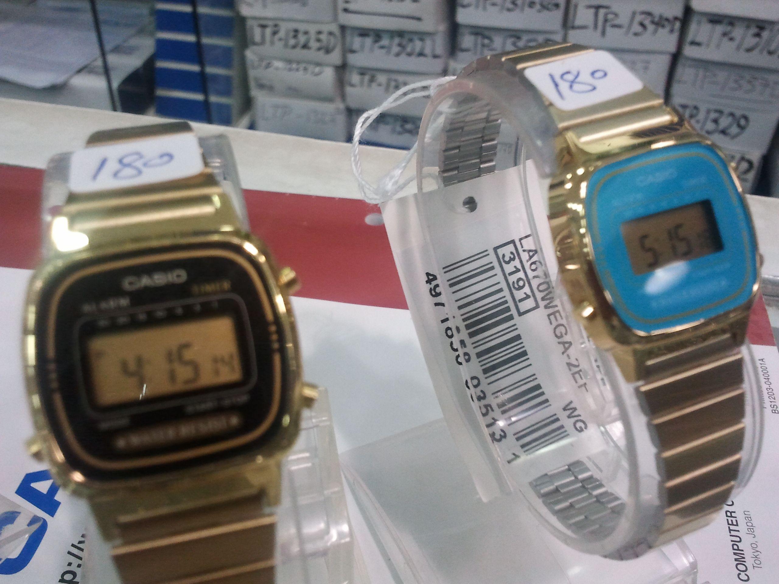 ساعة كاسيو الاصلي ضمان من الوكيل السعر 180 وللجملة اسعار خاصة Casio Watch Casio Gshock Watch