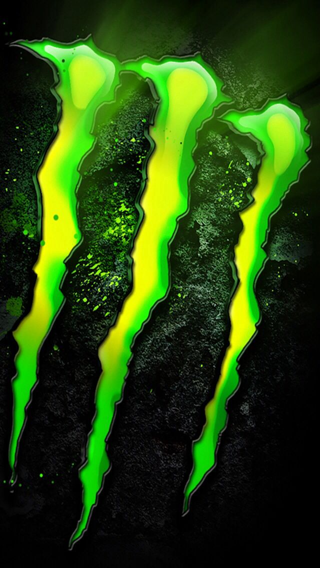 Monster Energy Fotografia Do Fumaca Tatuagem De Motos Papel De Parede Para Telefone