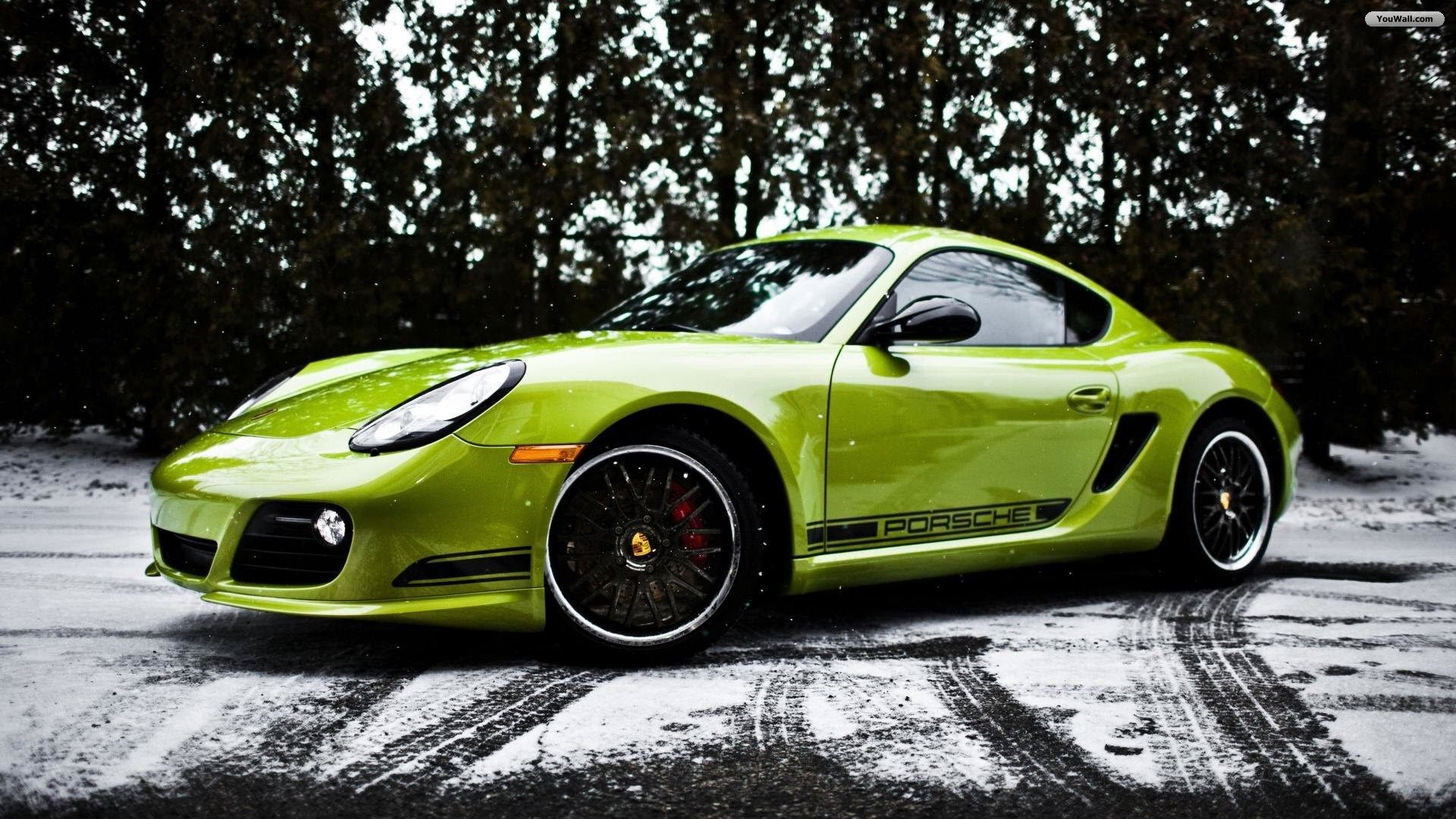 Green Porsche Cayman Wallpapers Porsche Cayman R Cayman Car Porsche