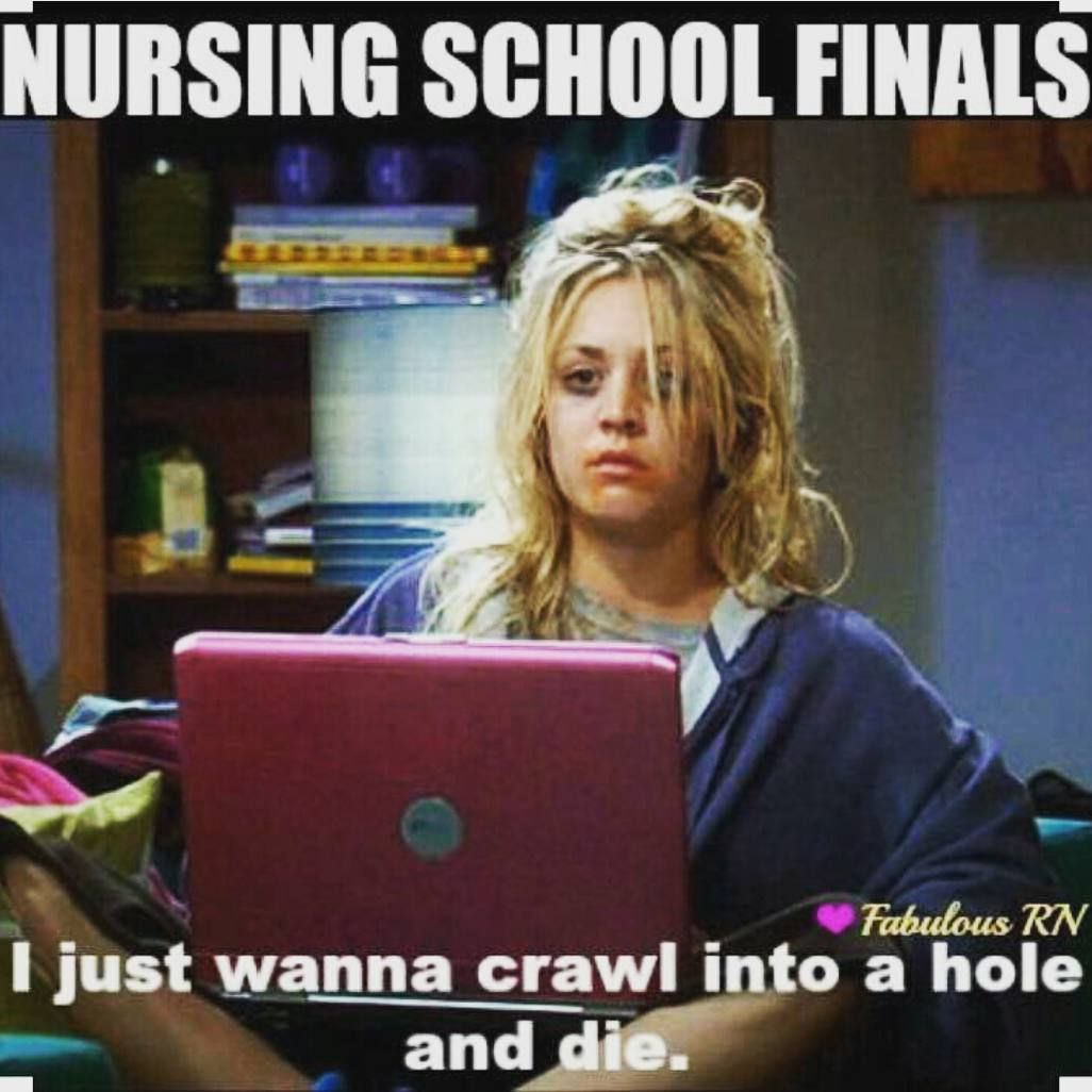 Nursing Finals Week Meme